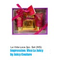 La Vida Loca 3pc. Set